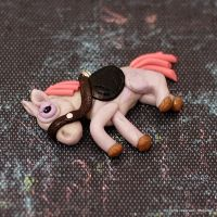 Sad donkey Cleophas by Mag-Dee