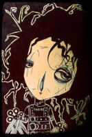 Edward Scissorhands by KaterinaChadoulou