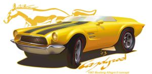 1967 Ford Mustang Allegro II by candyrod