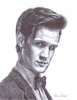 Eleventh Doctor by bronze-dragonrider