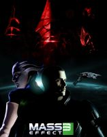 Mass Effect 3 poster by IndigoWolfe