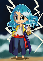 Elly Chibi For Aerococonut by kougraness