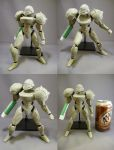 "7"" Samus Action Figure WIP 01 by red3183"
