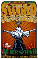 Sword Poster by todayiwait