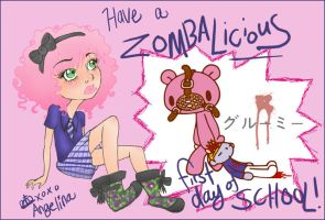Have a Zombalicious one . by fashion-tragedy