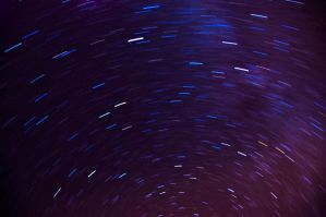 First Atempt at Star Trails by Foxseye