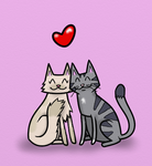 Mew means 'I love you' in feline by ramond997