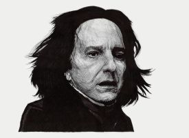Severus Snape by neoyurin