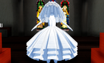 MMD Wedding Dress 02 by amiamy111