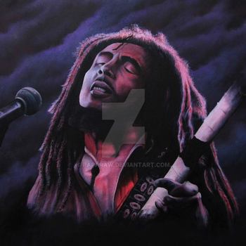Bob Marley by Paparaw