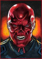 RED SKULL PSC by MJasonReed