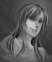 Grayscale Painting by Lexidus