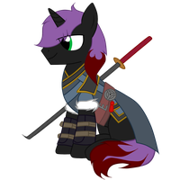 Black Haze the Myrmidon by FilipinoNinja95