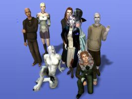 my sims haunting ground tale by xiverokami