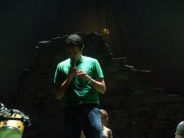 Ryan Playing tin Whistle (Soundcheck Pic) by CTG22