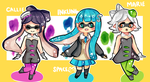 Splatoon Cheebs by eggbiscuit