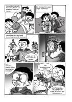 nobita kills doremon manga 3 by R-DRAIN