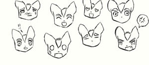 The many emotions of Fox McCloud by leafyloo