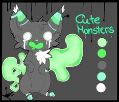 CLOSED - Halloween Auction: Cute Monsters #1 by Cirorin