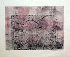 Untitled Monoprint 1 by tiptonartgoddess