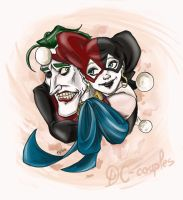 Clowns for DC-Couples Contest by xTERYLx