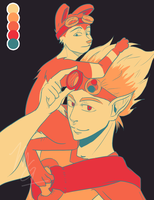 Palette Art -Jak and Daxter by angelicpoppie267
