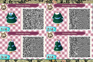 Victorian Dress QR Code by Bjnix248
