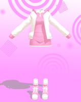 MMD Pink neko set Download by 9844