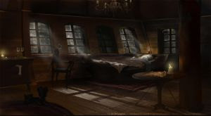 The Captain's Private Quarters by Lyno3ghe