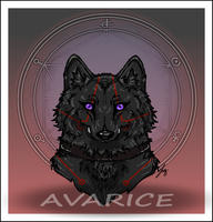 Wolf Avarice Request By Jegrde by ExplodingBlossom