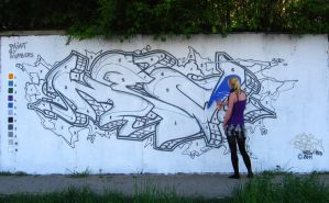 Paint By Numbers Wall by spoare153