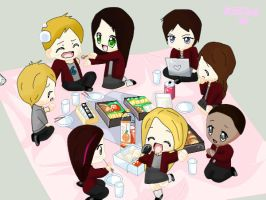 House of Anubis chibi by Julunia66