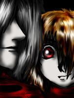 Alucard and seras2 by Idigoddpairings