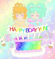Happy Birthday YuniNaoki by playfulkitty828