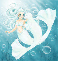 Dewgong Mermaid by chikorita85