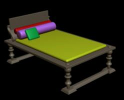00RomanBed by MyStarkey