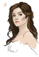 Lucy Hale by arnet