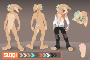 SUDO char sheet Commission by JayAxer
