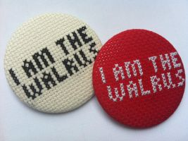 I am the walrus by Magasinxstitch