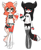.:Anthro Girlies Auction:. CLOSED by chocadopt
