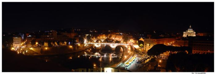 Rome By Night by cronenborg