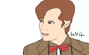 The eleventh doctor by WolfMaster221