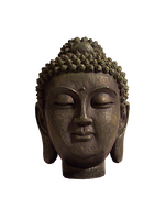 Stone Buddha Head by Dasha444