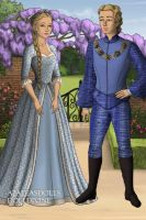 Bubbles and Boomer in Tudor Times by bre1