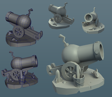 Cannon W.I.P by Whalzz