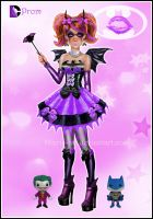 Batgirl Goes to her Prom by kharis-art