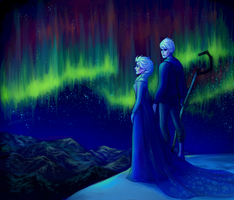 Northern Lights by inorheona