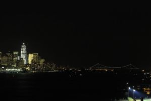 New York City Skyline 2 by migratingevilpoo