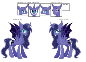 Luna-Batpony mare offer to adopt by RivertailofRiverclan