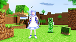 Ika Musume in Minecraft by Groudon100